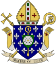 Diocese of Leeds Arms (Full Colour) With Scroll +Transparency